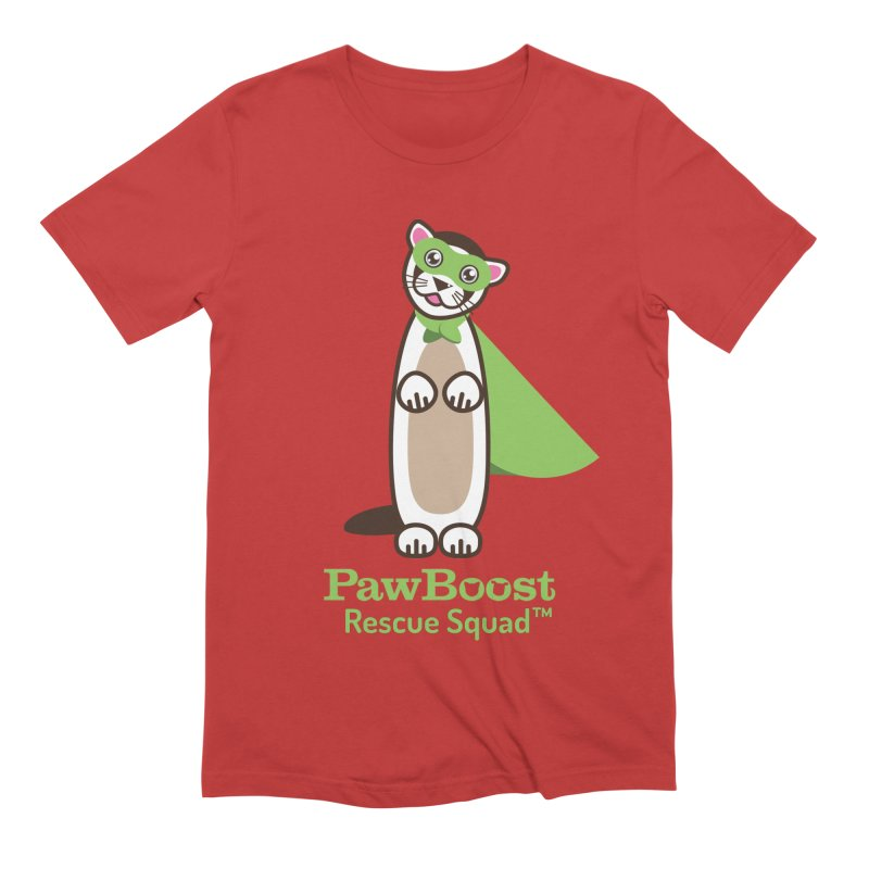 Frankie (ferret) Men's Extra Soft T-Shirt by PawBoost's Shop