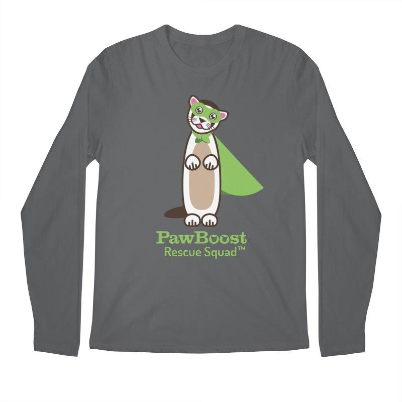 Frankie (ferret) Men's Longsleeve T-Shirt by PawBoost's Shop