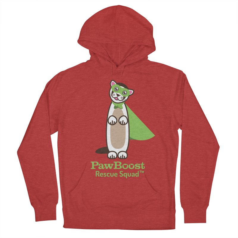 Frankie (ferret) Women's French Terry Pullover Hoody by PawBoost's Shop