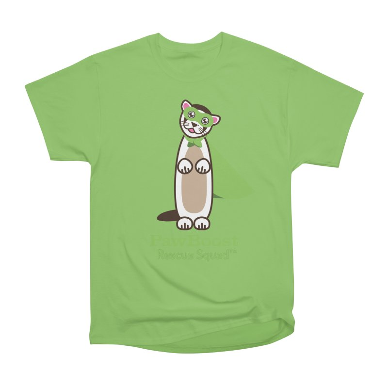 Frankie (ferret) Women's Heavyweight Unisex T-Shirt by PawBoost's Shop