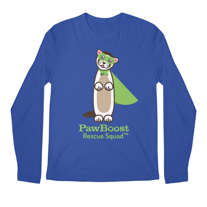 Frankie (ferret) Men's Regular Longsleeve T-Shirt by PawBoost's Shop