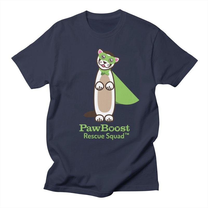 Frankie (ferret) Men's Regular T-Shirt by PawBoost's Shop
