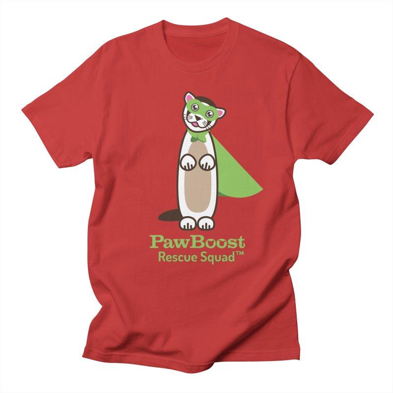 Frankie (ferret) Women's Regular Unisex T-Shirt by PawBoost's Shop