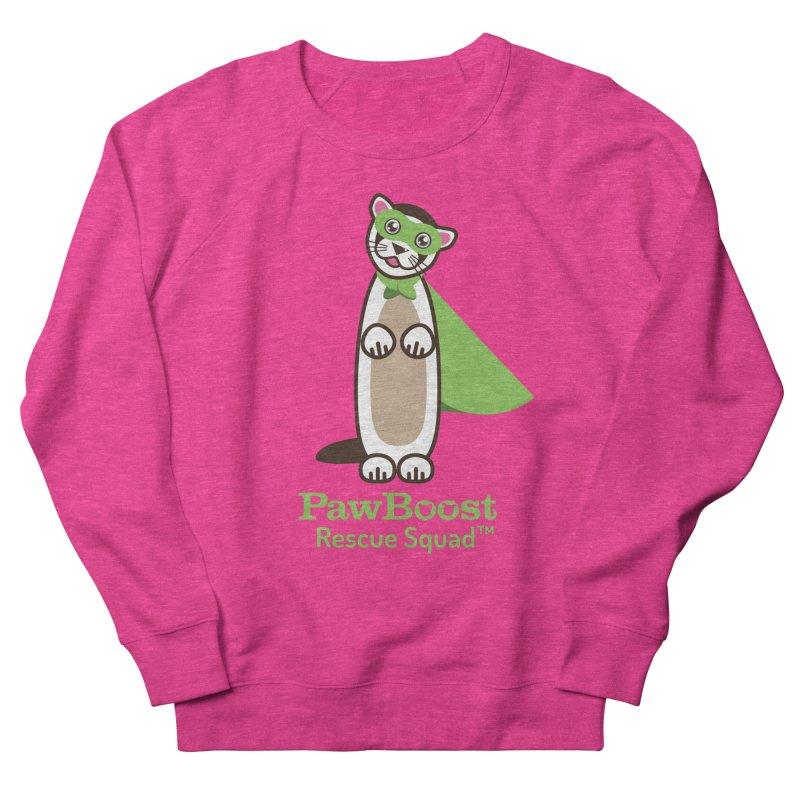 Frankie (ferret) Men's French Terry Sweatshirt by PawBoost's Shop