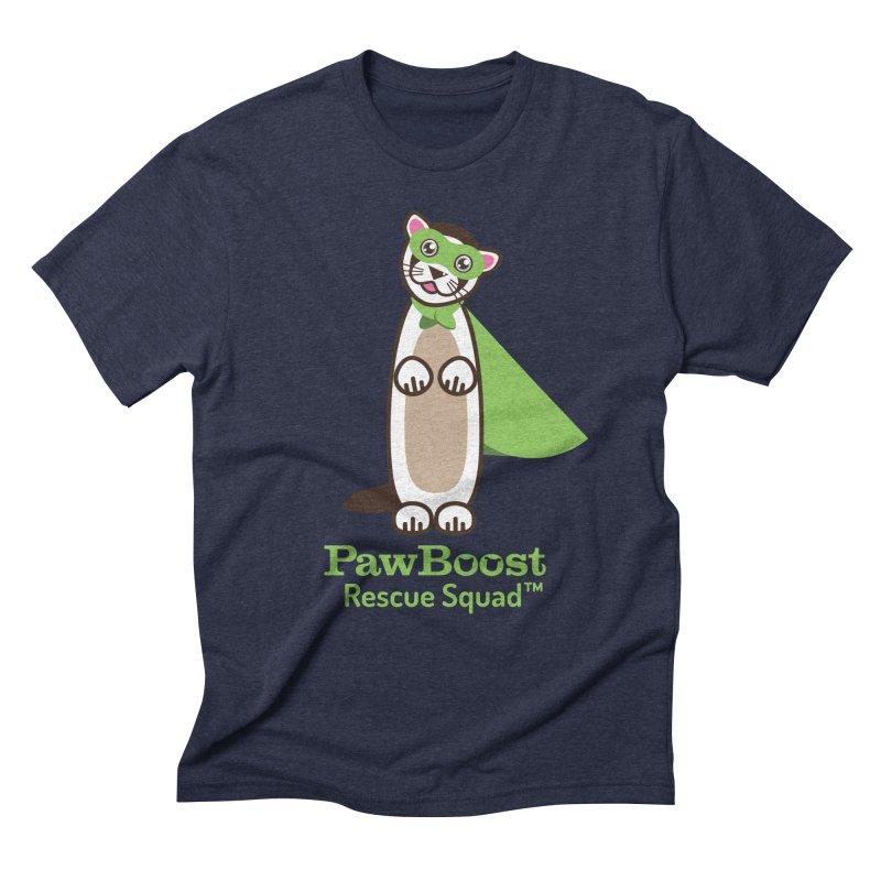 Frankie (ferret) Men's Triblend T-Shirt by PawBoost's Shop