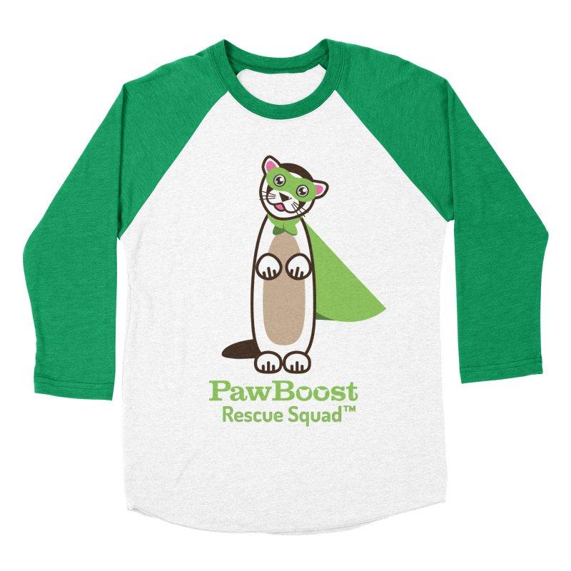 Frankie (ferret) Women's Baseball Triblend T-Shirt by PawBoost's Shop
