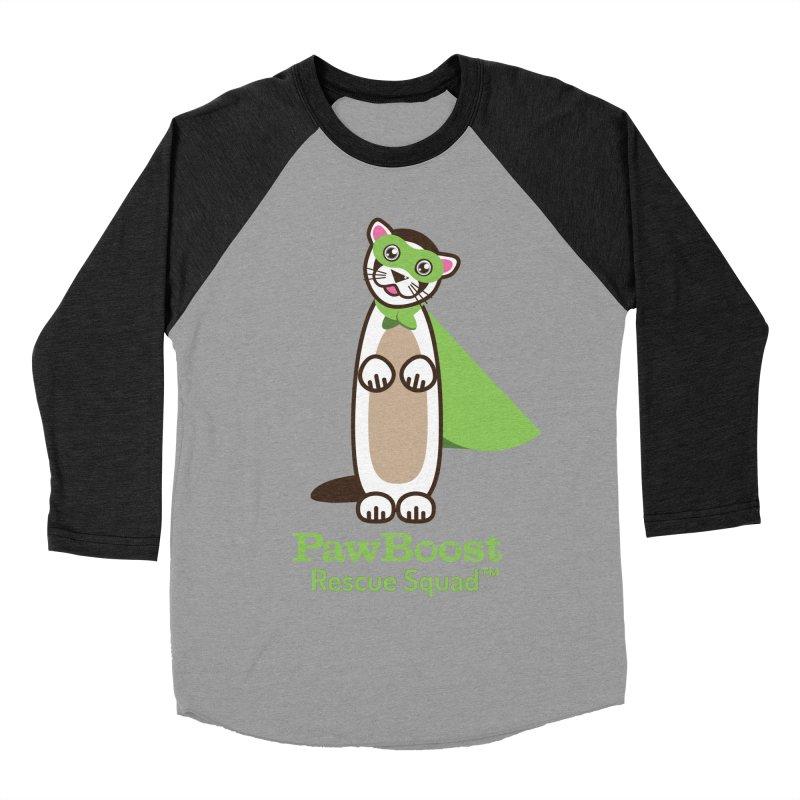Frankie (ferret) Women's Baseball Triblend Longsleeve T-Shirt by PawBoost's Shop