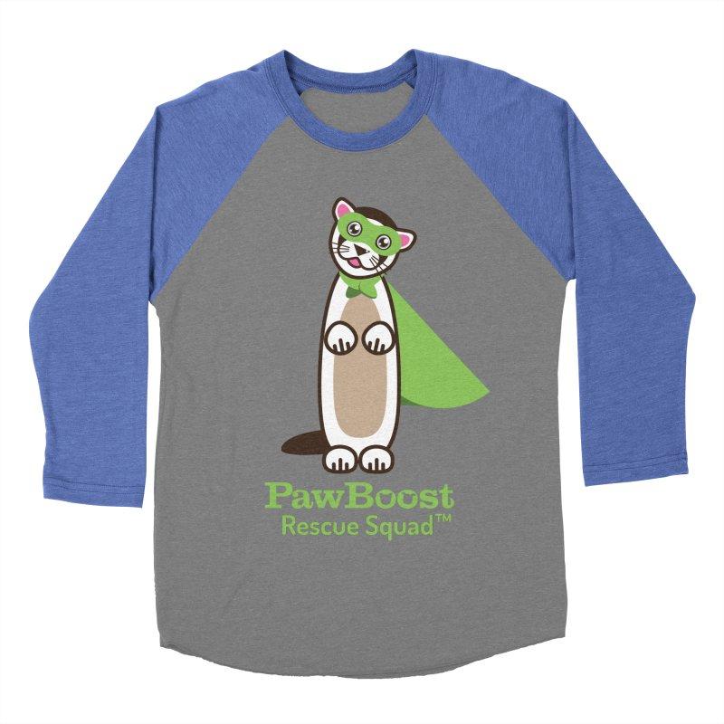 Frankie (ferret) Men's Baseball Triblend T-Shirt by PawBoost's Shop