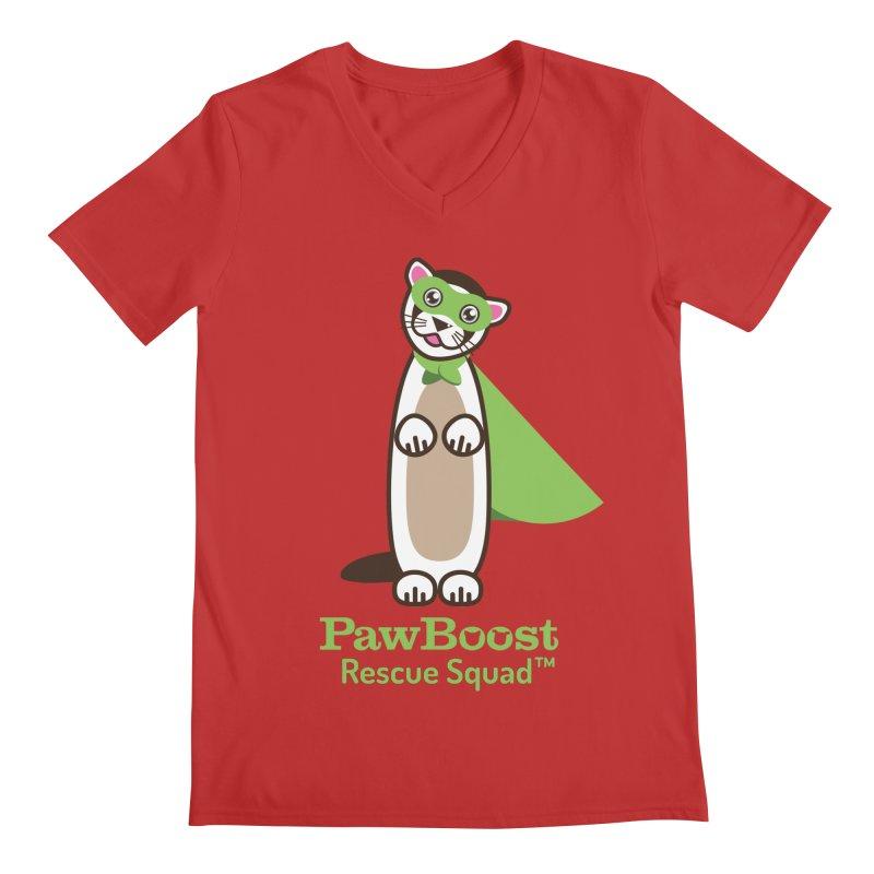 Frankie (ferret) Men's Regular V-Neck by PawBoost's Shop