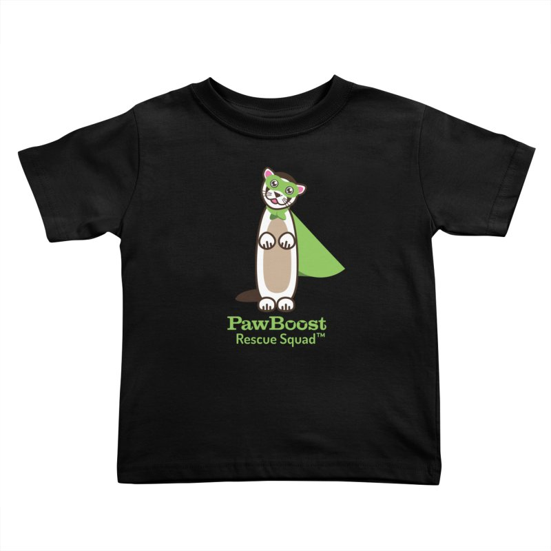 Frankie (ferret) Kids Toddler T-Shirt by PawBoost's Shop