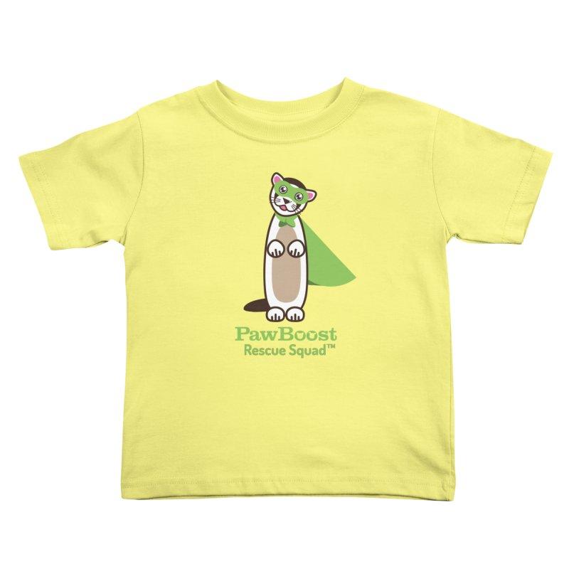 Frankie (ferret) Kids Toddler T-Shirt by PawBoost's Shop