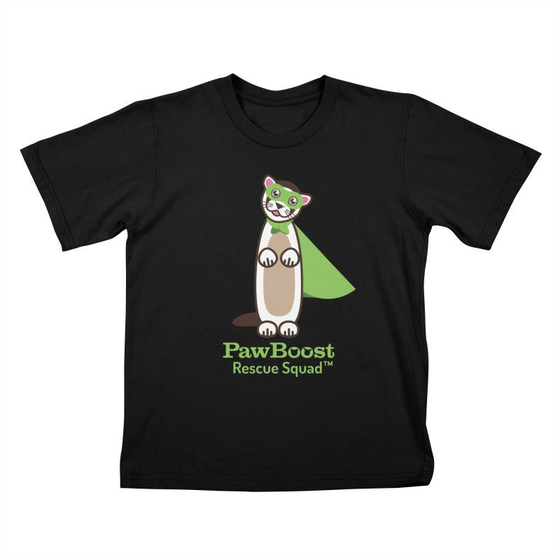 Frankie (ferret) Kids T-Shirt by PawBoost's Shop