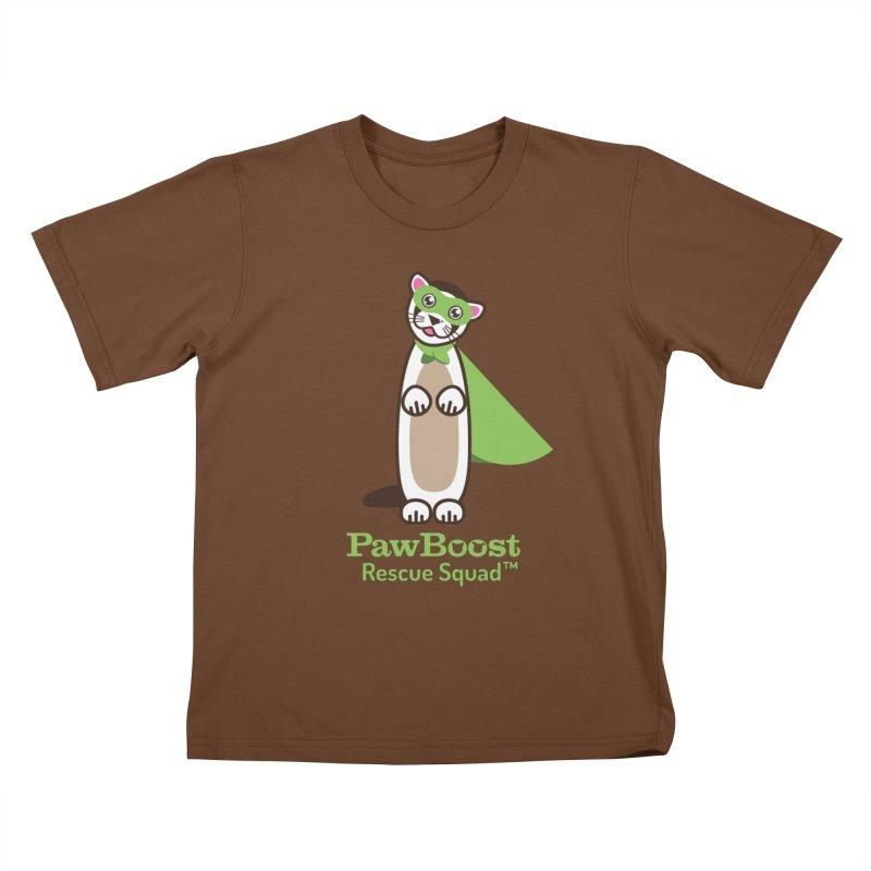 Frankie (ferret) Kids T-Shirt by PawBoost's Shop