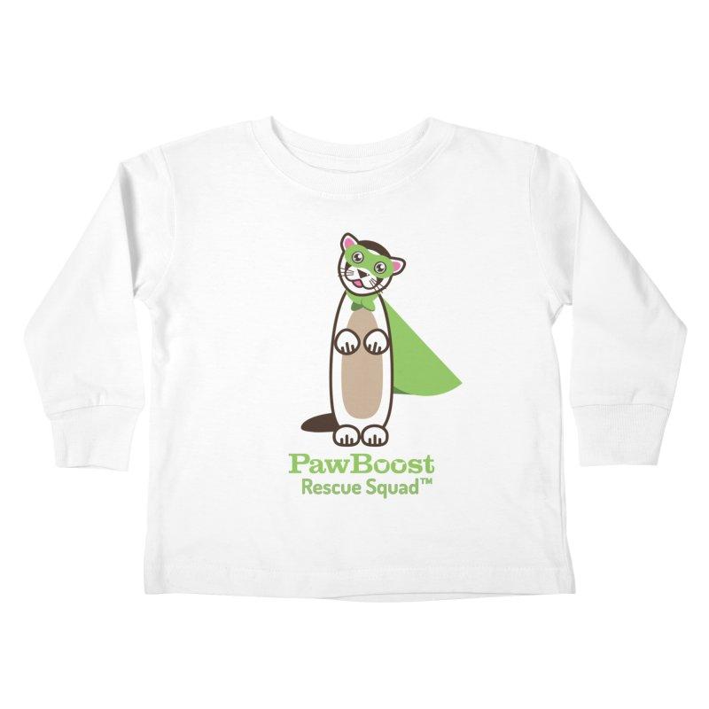 Frankie (ferret) Kids Toddler Longsleeve T-Shirt by PawBoost's Shop