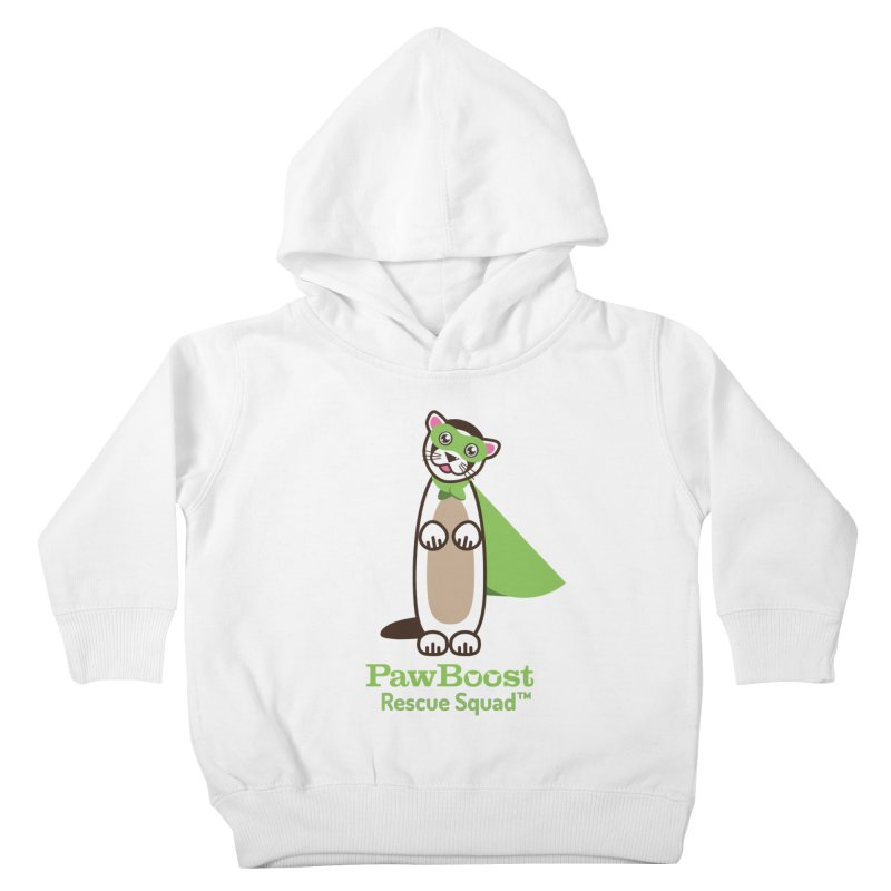 Frankie (ferret) Kids Toddler Pullover Hoody by PawBoost's Shop