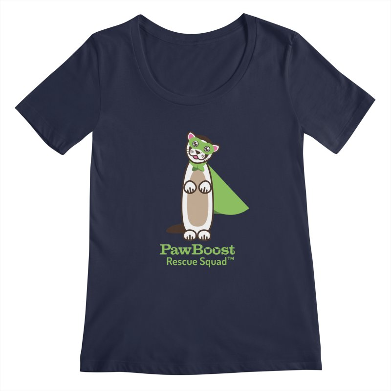 Frankie (ferret) Women's Regular Scoop Neck by PawBoost's Shop