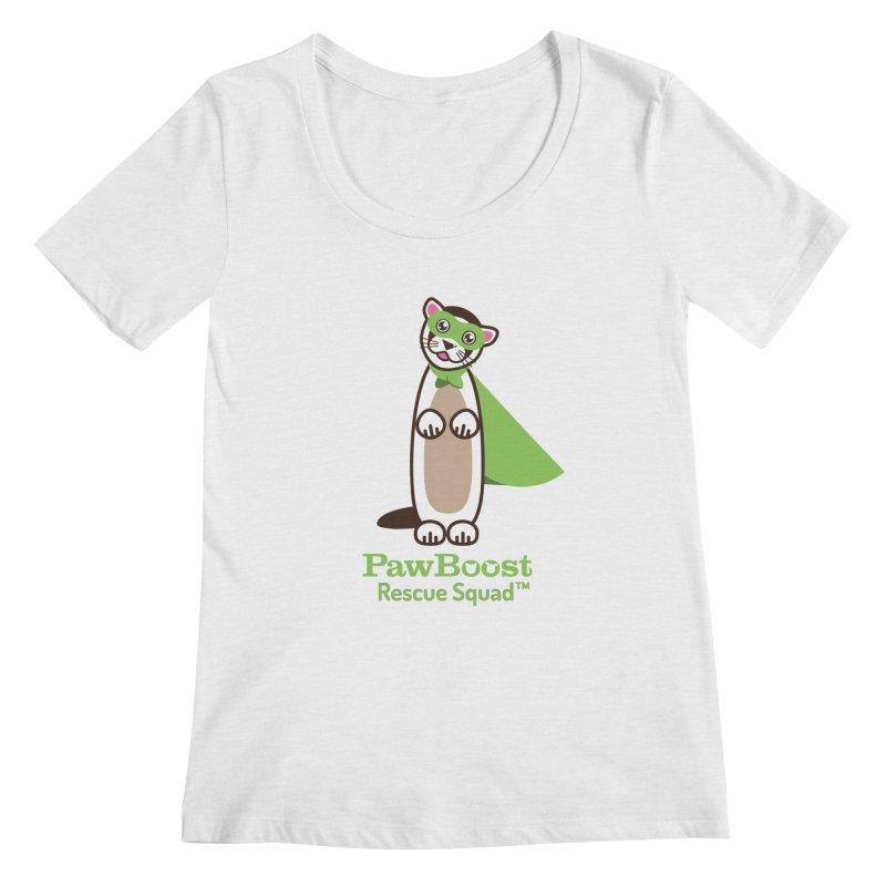 Frankie (ferret) Women's Regular Scoop Neck by PawBoost's Shop