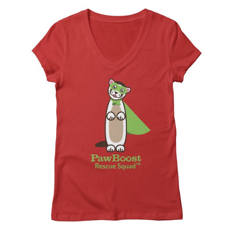 Frankie (ferret) Women's Regular V-Neck by PawBoost's Shop