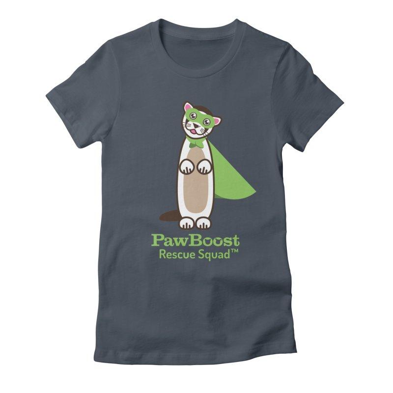 Frankie (ferret) Women's T-Shirt by PawBoost's Shop