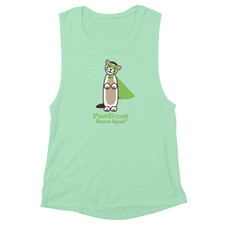 Frankie (ferret) Women's Muscle Tank by PawBoost's Shop