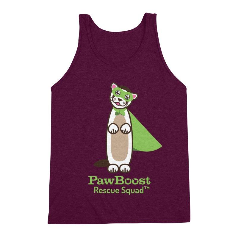 Frankie (ferret) Men's Triblend Tank by PawBoost's Shop