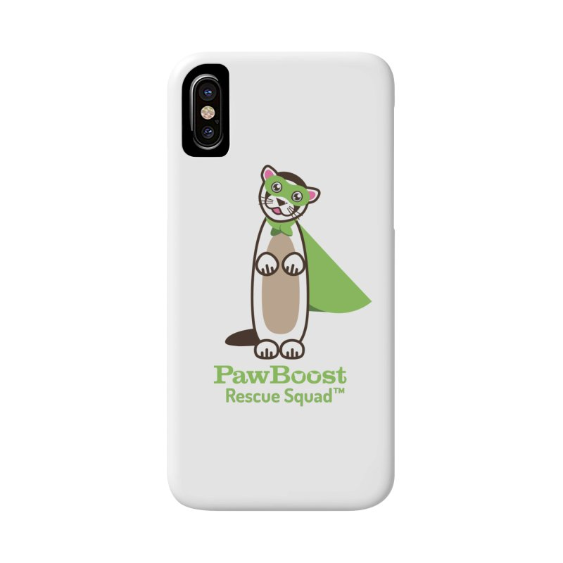 Frankie (ferret) Accessories Phone Case by PawBoost's Shop