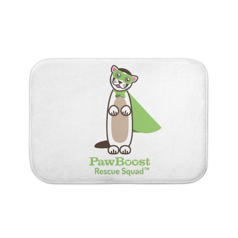 Frankie (ferret) Home Bath Mat by PawBoost's Shop