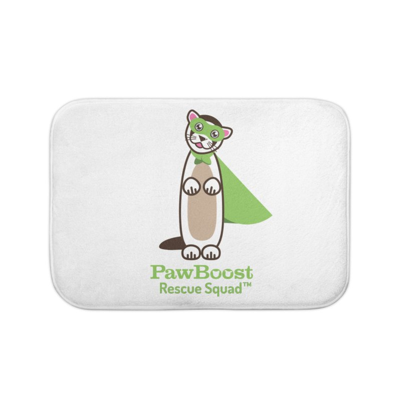 Frankie (ferret) Home Bath Mat by PawBoost's Shop
