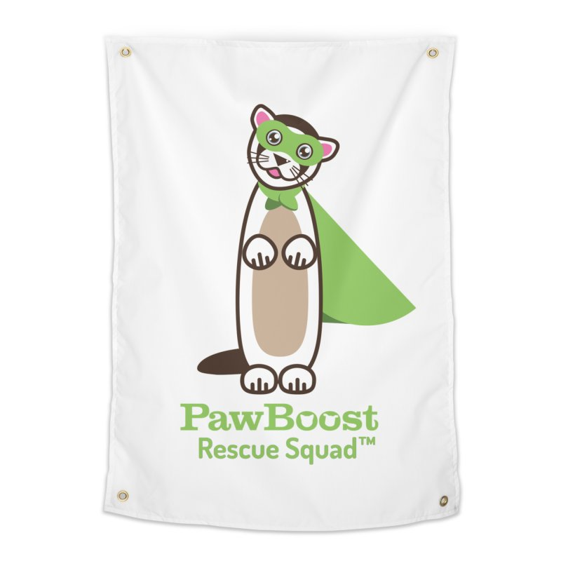 Frankie (ferret) Home Tapestry by PawBoost's Shop