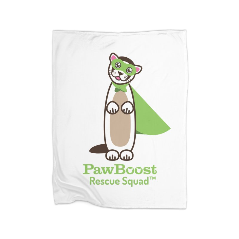 Frankie (ferret) Home Fleece Blanket Blanket by PawBoost's Shop