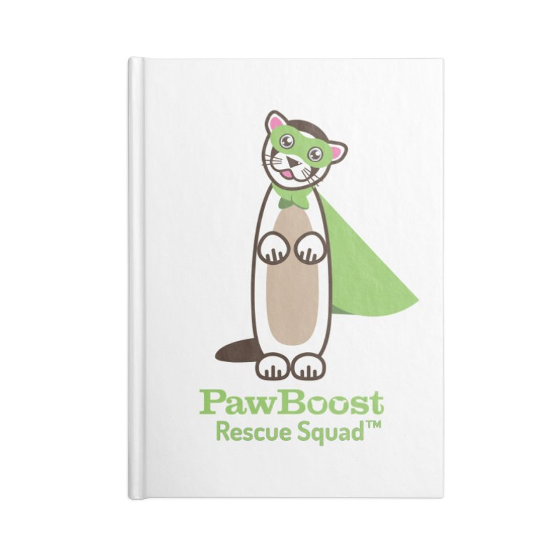 Frankie (ferret) Accessories Notebook by PawBoost's Shop