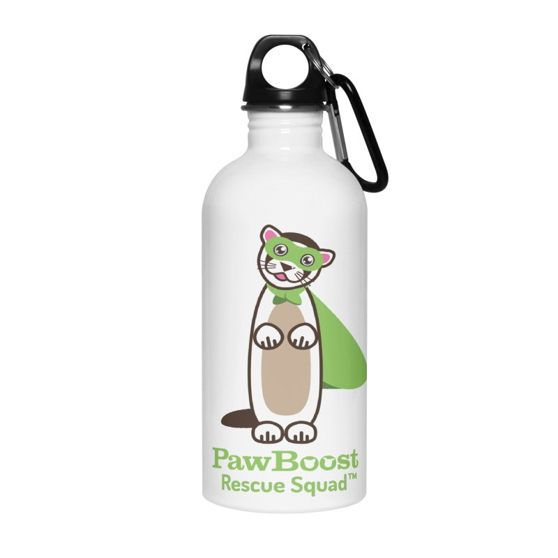 Frankie (ferret) Accessories Water Bottle by PawBoost's Shop