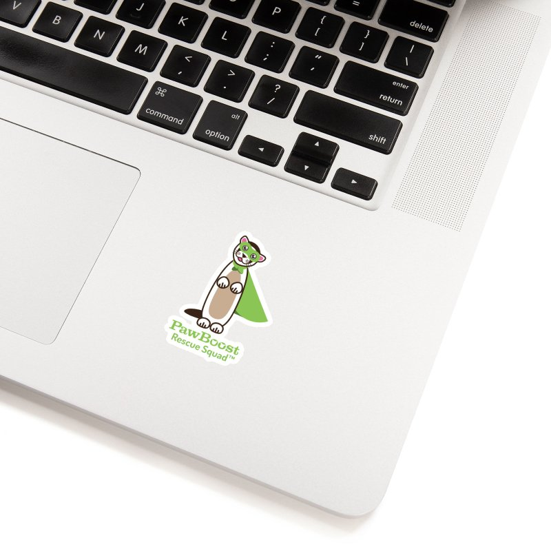 Frankie (ferret) Accessories Sticker by PawBoost's Shop