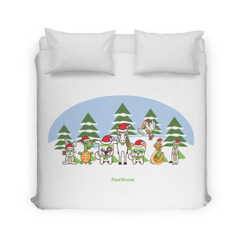 Rescue Squad (winter wonderland) Home Duvet by PawBoost's Shop
