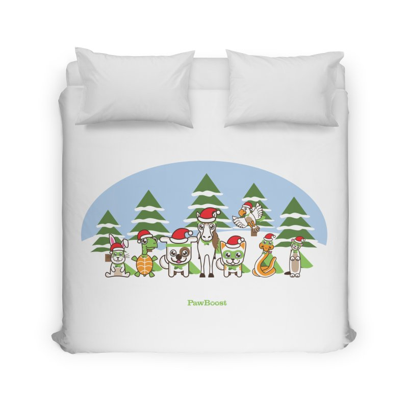 Rescue Squad (winter wonderland) Home Duvet by PawBoost's Shop