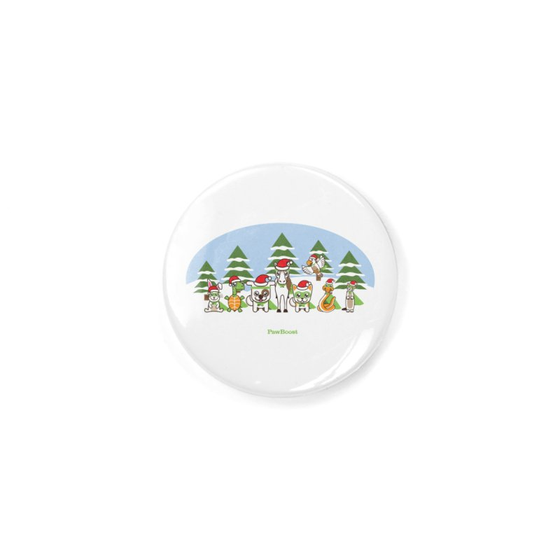 Rescue Squad (winter wonderland) Accessories Button by PawBoost's Shop