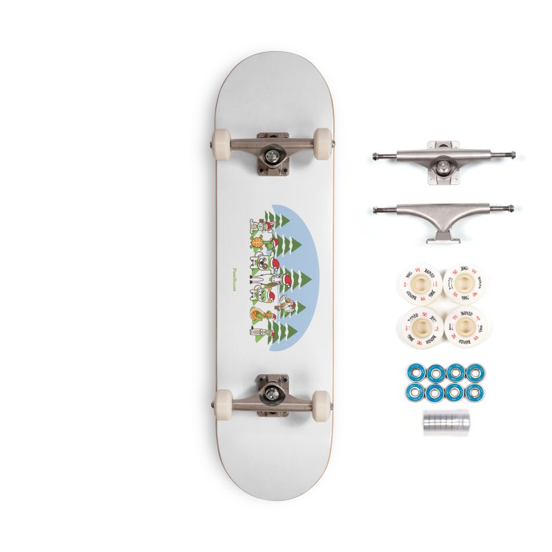 Rescue Squad (winter wonderland) Accessories Complete - Premium Skateboard by PawBoost's Shop