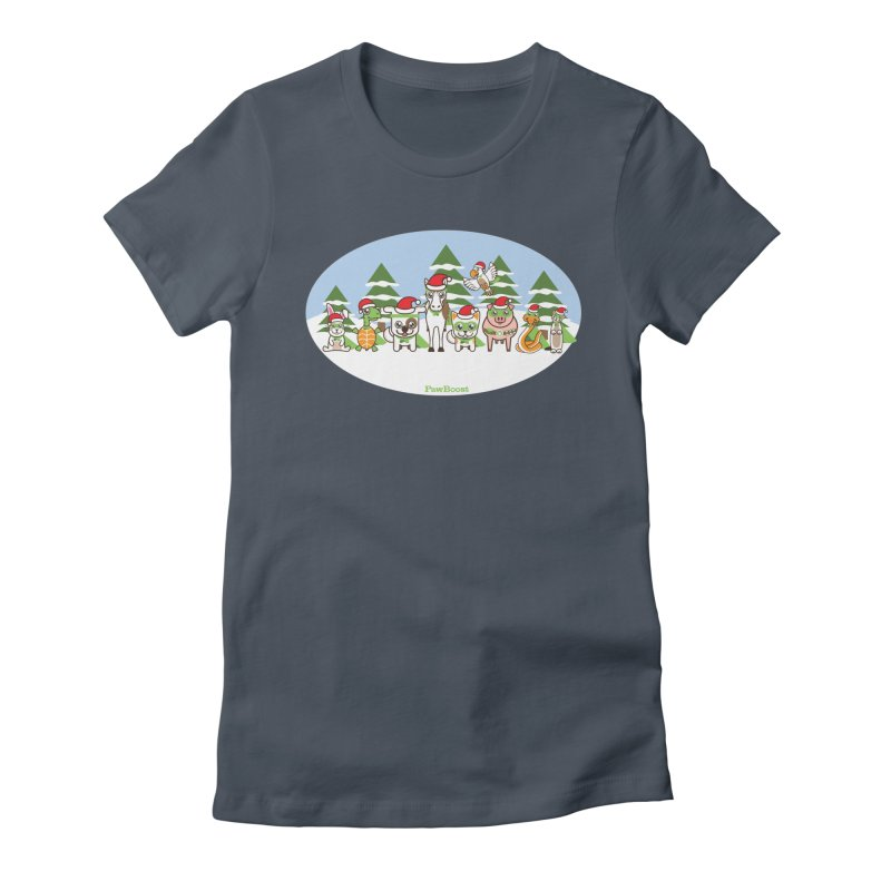 Rescue Squad (winter wonderland) Women's T-Shirt by PawBoost's Shop