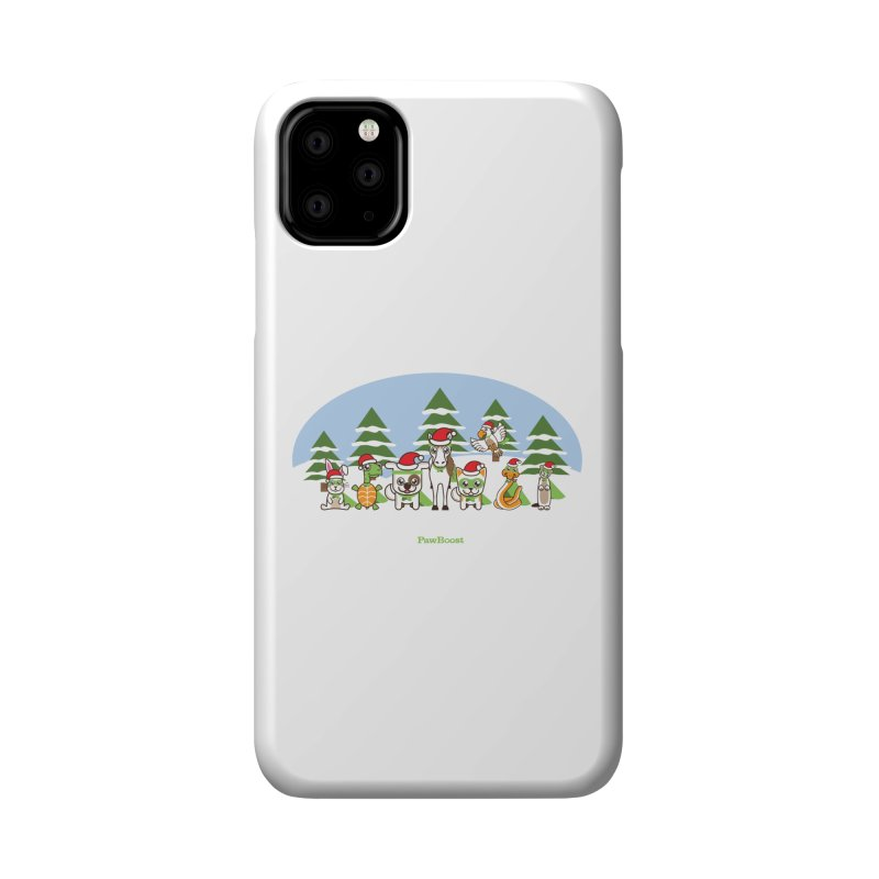 Rescue Squad (winter wonderland) Accessories Phone Case by PawBoost's Shop