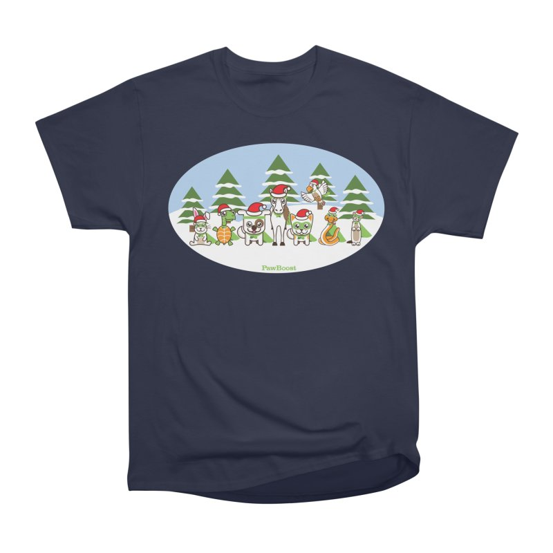 Rescue Squad (winter wonderland) Men's Classic T-Shirt by PawBoost's Shop