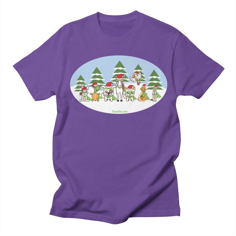 Rescue Squad (winter wonderland) Women's Regular Unisex T-Shirt by PawBoost's Shop
