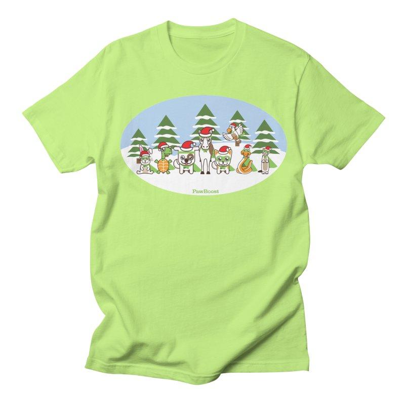 Rescue Squad (winter wonderland) Women's Unisex T-Shirt by PawBoost's Shop