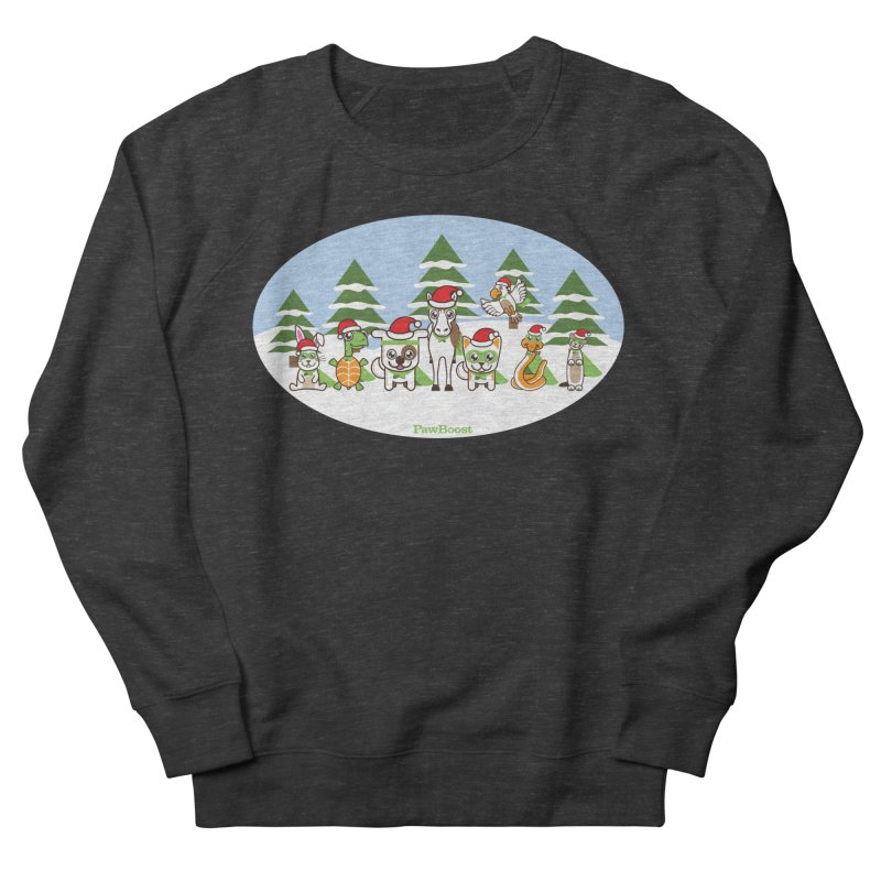 Rescue Squad (winter wonderland) Women's Sweatshirt by PawBoost's Shop