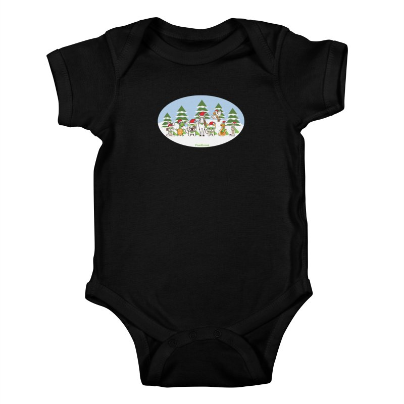 Rescue Squad (winter wonderland) Kids Baby Bodysuit by PawBoost's Shop