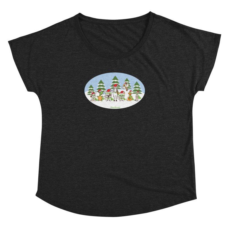 Rescue Squad (winter wonderland) Women's Dolman by PawBoost's Shop