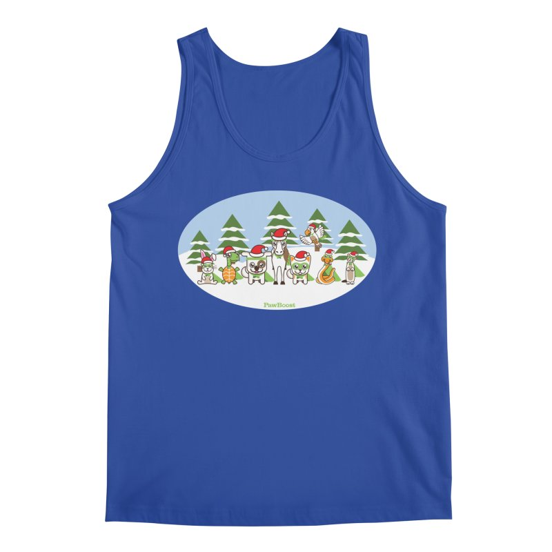 Rescue Squad (winter wonderland) Men's Regular Tank by PawBoost's Shop