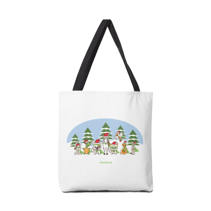 Rescue Squad (winter wonderland) Accessories Tote Bag Bag by PawBoost's Shop