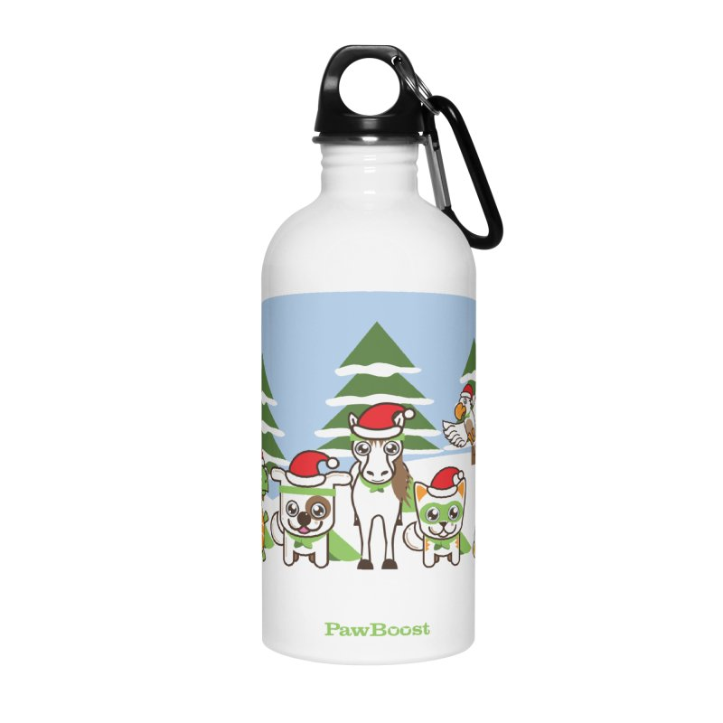 Rescue Squad (winter wonderland) Accessories Water Bottle by PawBoost's Shop