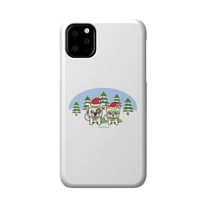 Toby & Moby (winter wonderland) Accessories Phone Case by PawBoost's Shop