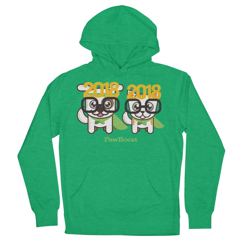 Hello 2018! Men's Pullover Hoody by PawBoost's Shop
